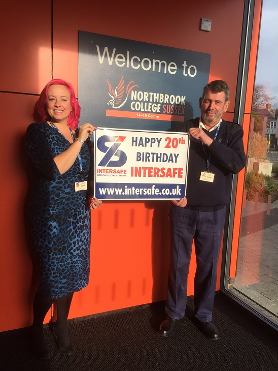 Happy 20th Birthday from Northbrook College