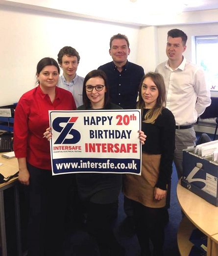 Happy 20th Birthday from Waterscan